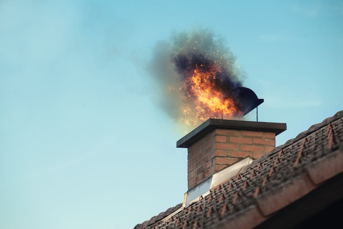 eviter feu de cheminee